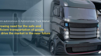 Autonomous Truck Market Projected to Grow at a CAGR 39.96%