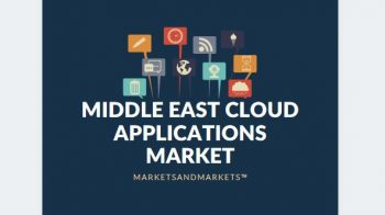 Middle East Cloud Applications Market Revenues to expand $2404.5 Million by 2020