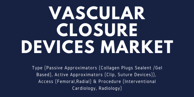 Vascular Closure Devices Market
