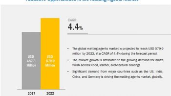 Matting Agents Market worth 579.9 Million USD by 2022