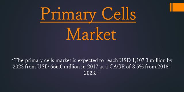 Primary Cells Market