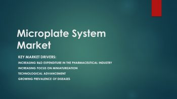 Microplate System Market | Growth is Centered at Pharma, Biotech and Drug Discovery Application