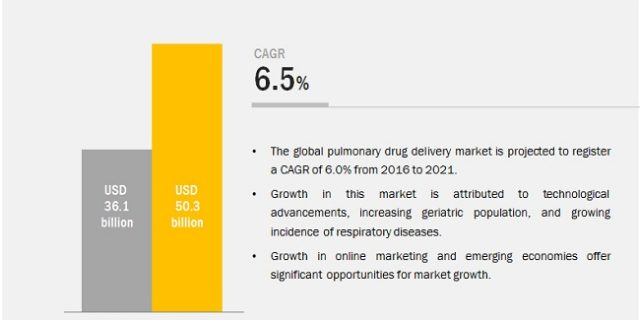 Pulmonary/ Respiratory Drug Delivery Market