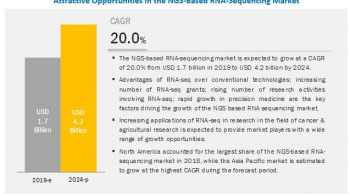 NGS-Based RNA-Sequencing Market is Growing at a CAGR of 20%