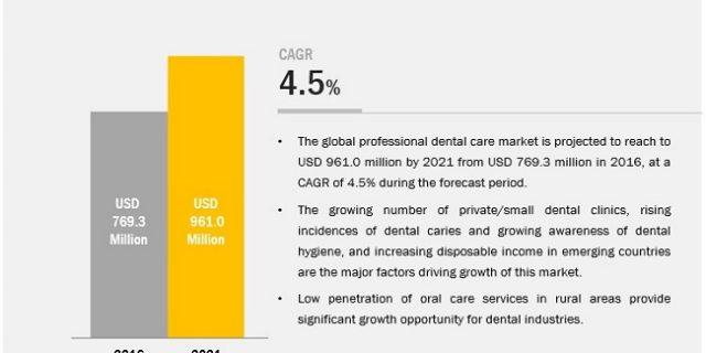 Professional Dental Care Market