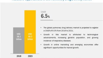 Pulmonary Drug Delivery Market: Increasing Incidence of Respiratory Diseases