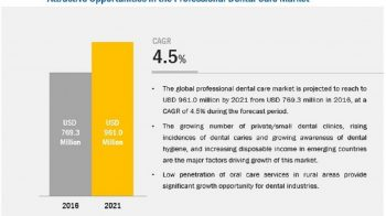 Professional Dental Care Market: Growing Awareness about Dental Hygiene