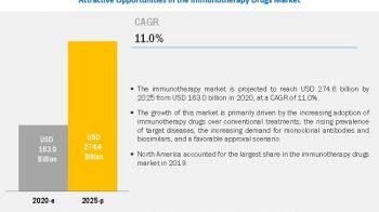 Immunotherapy Drugs Market Worth $274.6 Billion by 2025 – Exclusive Report by MarketsandMarkets™